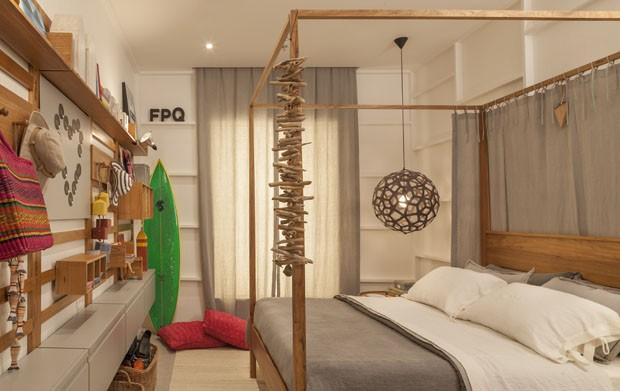 10 quartos cariocas e arrasadores Casa Vogue Ambientes ~ Quarto Rustico De Praia