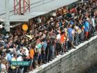 Falha na rede elétrica interrompe Linha 7- Rubi da CPTM por 12 horas