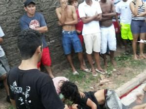 Skatista é executado ao lado da delegacia e no Maiobão (Foto: Divulgação/SSPMA)