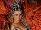 Musas do carnaval paulista exibem curvas em desfile de fantasias