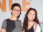Sandra Annenberg vai ao Lollapalooza com a filha, Elisa: 'Ela gosta'