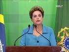 No dia seguinte à aprovação do impeachment, Dilma se diz injustiçada