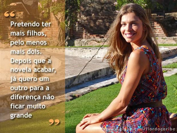 grazi (Foto: Flor do Caribe / TV Globo)