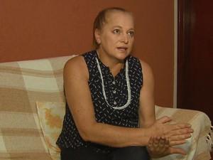 A funcionária pública Sonia Regina Pacagnan foi vítima de golpe com o saldo do FGTS (Foto: Reprodução/ EPTV)