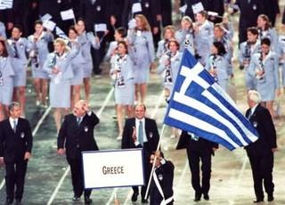 Grécia cerimônia de abertura (Foto: Clive Brunskill / Getty Images)