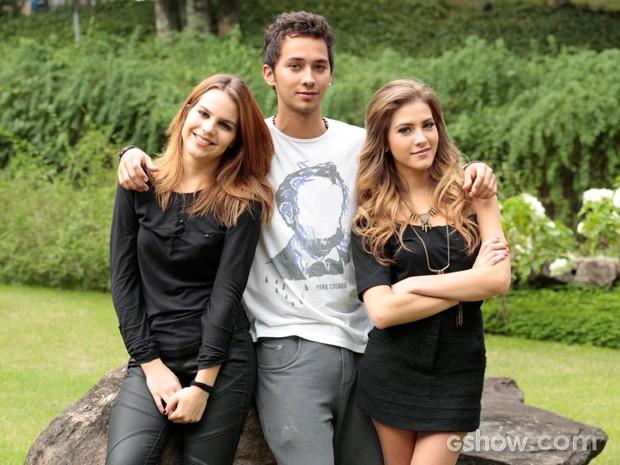 Relembre as aventuras desse trio pra lá de especial (Foto: Felipe Monteiro / TV Globo)