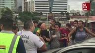 Terceira ponte, que liga Vitória e Vila Velha, é bloqueada por manifestantes no ES