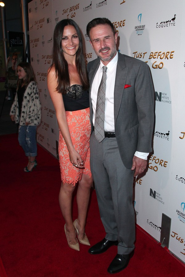 O ator  David Arquette e sua esposa, Christina McLarty (Foto: Getty Images)