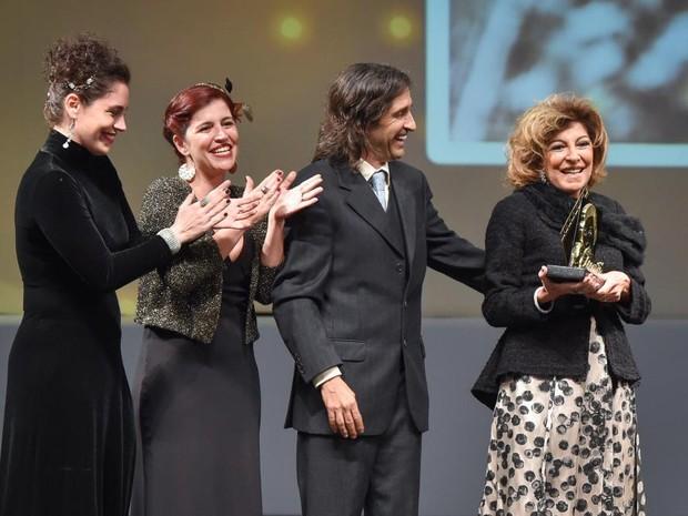 Marília Pêra foi homenageada no Festival de Cinema de Gramado (RS) (Foto: Igor Pires/Pressphotos)