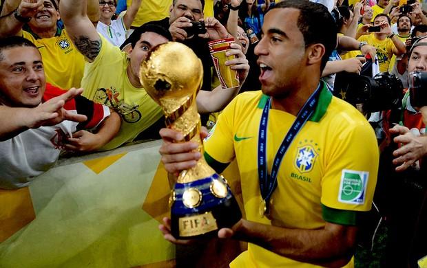 lucas taça final copa das confederações (Foto: André Durão / Globoesporte.com)