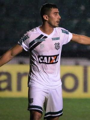 MArquinhos Pedroso Figueirense x Palmeiras (Foto: Luiz Henrique/Figueirense FC)