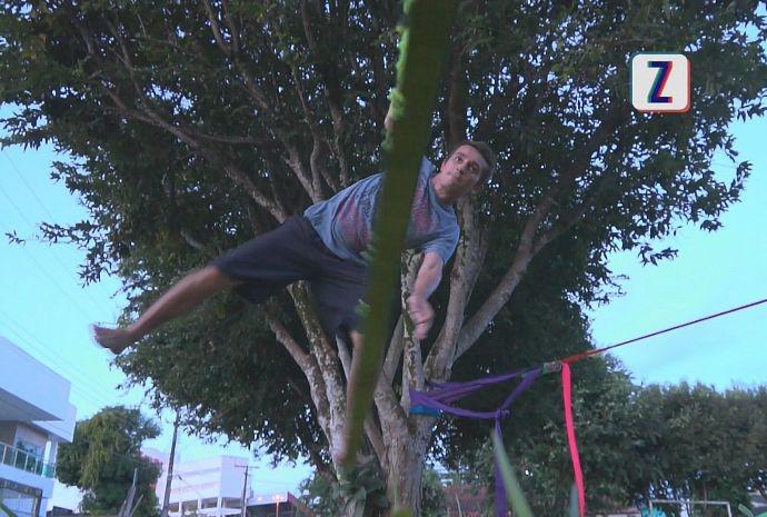Moacyr teve que treinar bastante (Foto: Zappeando)