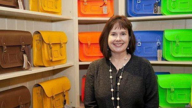"""Julie Dean deu início ao """"Império das Lancheiras"""" a partir da cozinha de sua casa  (Foto: BBC)"""