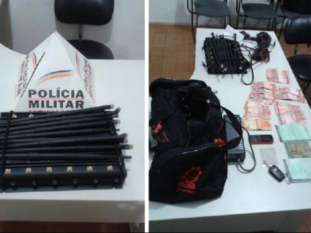 roubo café ibiá (Foto: Polícia Militar/Divulgação)