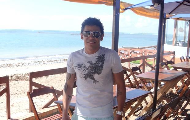 Élton Xavier - Jogador em Maceió (Foto: Viviane Leão/GLOBOESPORTE.COM)
