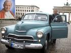 Alemão compra carro antigo do Papa João Paulo II e leva veículo para Roma