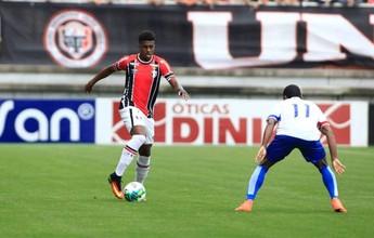 Jogadores do Paraná citam expulsão como decisiva e já miram recuperação