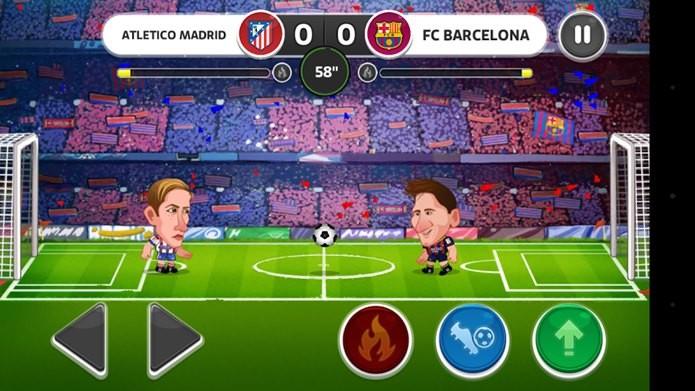 Head Soccer traz jogadores conhecidos em versões cabeçudas (Foto: Divulgação)