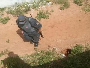 Saída do túnel foi descoberta na manhã deste sábado (9) (Foto: Coape/Divulgação)