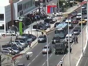 Assalto ocorreu em shopping em Fortaleza (Foto: TV Verdes Mares/Reprodução)