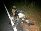 Motociclista morre após bater na traseira de trator na MG-402
