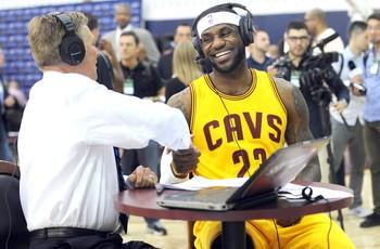 Lebron James, Cavaliers (Foto: Agência Reuters)