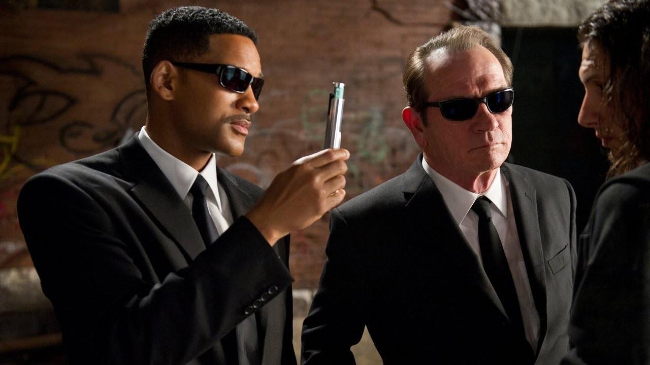Will Smith e Tommy Lee Jones em MIB (Foto: Divulgação)