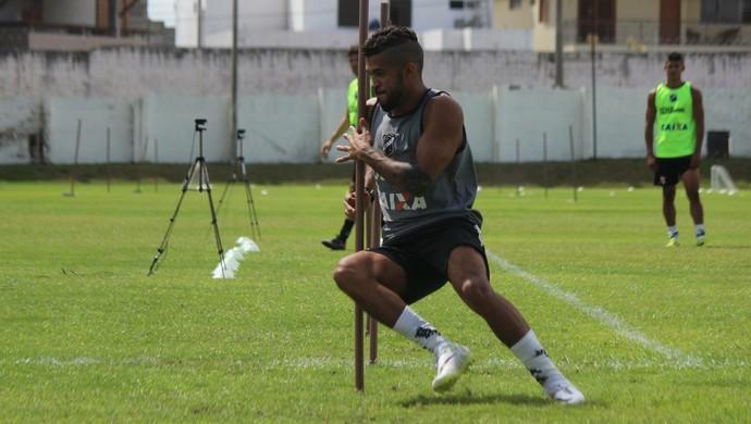 Alvinho - atacante do ABC (Foto: Assessoria de Comunicação/ABC)