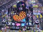 Escolas de samba do Rio prestam homenagens na Marquês de Sapucaí