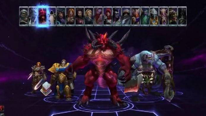 Personagens famosos estão em Heroes of The Storm (Foto: Divulgação) (Foto: Personagens famosos estão em Heroes of The Storm (Foto: Divulgação))