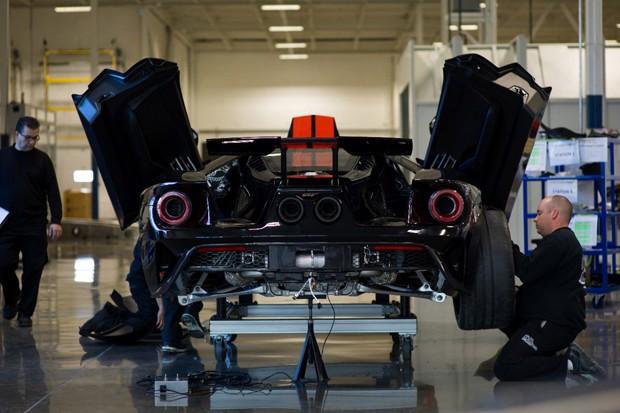 Ford produz primeira unidade do superesportivo GT (Foto: Divulgação)
