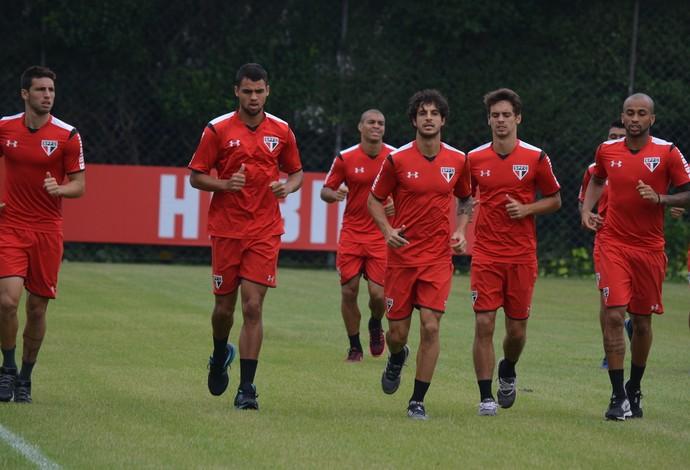 São Paulo treino (Foto: Érico Leonan / saopaulofc.net)