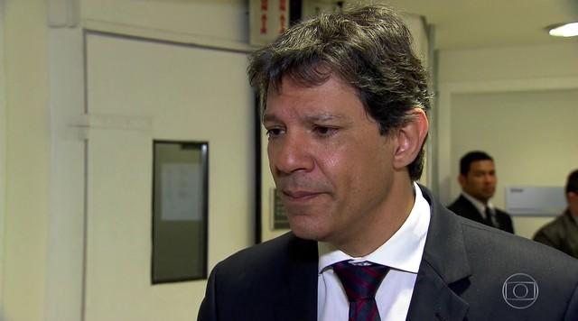 Fernando Haddad participa de entrevista no SPTV