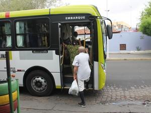 Preço das passagens dos ônibus em Petrolina sofrem reajuste (Foto: Amanda Franco/G1)