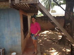 Rosidete Lima nunca passou embaixo de uma escada (Foto: John Pacheco/G1)