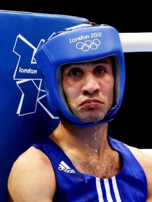 Wessam Slamana durante os Jogos de Londres 2012 (Foto: Getty Images)