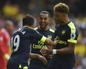 Antes tarde... Arsenal e Leicester vencem a primeira na temporada