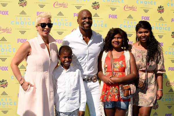 Terry Crews com a esposa e filhos (Foto: Getty Images)