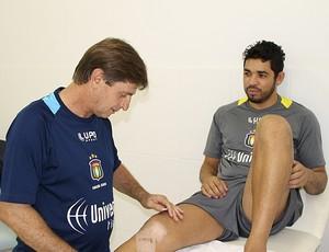Goleiro Luiz (Foto: Divulgação)