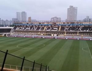 Vila Belmiro Santos x Cruzeiro (Foto: Lincoln Chaves)