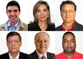 Mosaico candidatos (Foto: Divulgação)