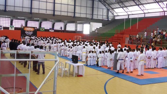 2ª ETAPA DO CAMPEONATO ESTADUAL DE KARATE (CAMPEK) (Foto: Divulgação)