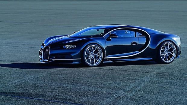 Fim do mistério: ouça o ronco do motor do Bugatti Chiron de 1.520 cv!