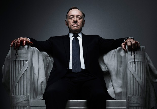 """Kevin Spacey como Frank Underwood, na série de TV """"House of Cards"""" (Foto: Divulgação/Netflix)"""