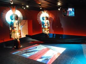 Exposição sobre a tribo Karajás no Museu do Índio do Rio de Janeiro (Foto: Divulgação)