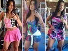 Inspire-se em seis looks da bailarina Tata Moreno para se exercitar no verão