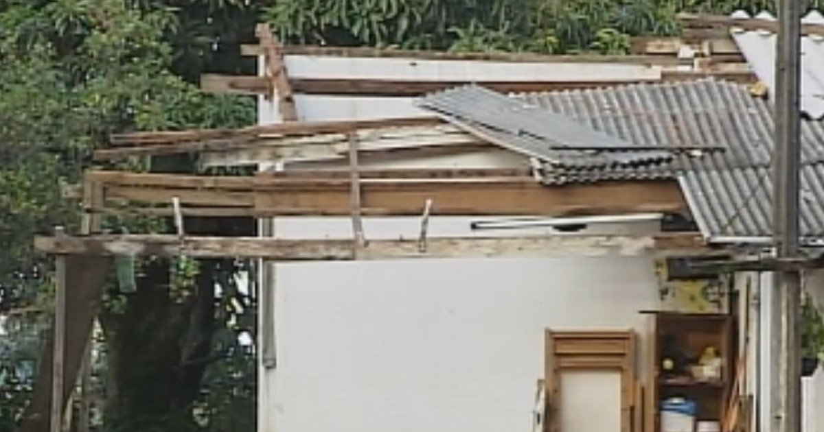 Chuva de 15 minutos causa estragos na zona rural de Assis - Globo.com