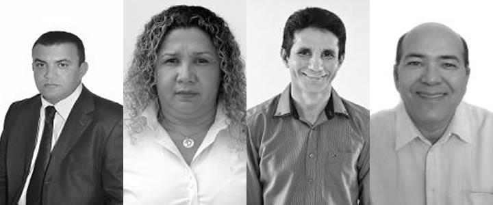 Candidatos á Prefeitura de Belterra 2016 (Foto: Montagem/G1)
