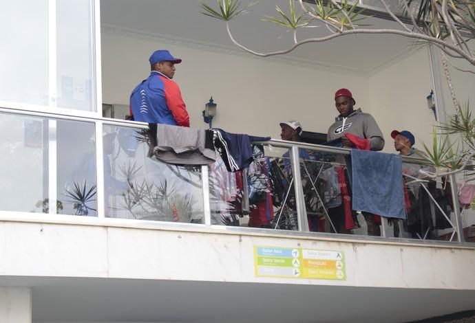 hostel Cuba luta olímpica Rio 2016 (Foto: Adriano Albuquerque)