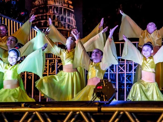 Festa Véu da Noiva em Piracicaba (Foto: Semac/ Prefeitura de Piracicaba)
